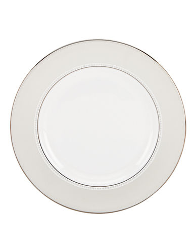 Kate Spade New York Chapel Hill Salad Plate-WHITE-One Size