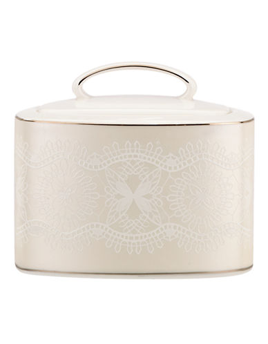 Kate Spade New York Chapel Hill Sugar Bowl-WHITE-One Size