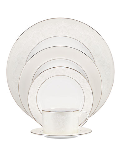 Kate Spade New York Chapel Hill Five-Piece Place Setting-WHITE-One Size