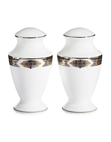 Lenox Vintage Jewel Salt and Pepper Shakers-WHITE-One Size