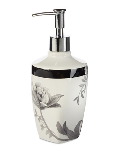Lenox Moonlit Garden Lotion Dispenser-BLACK-One Size