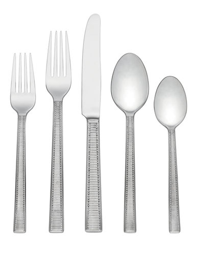 Kate Spade New York Grace Avenue Five-Piece Flatware Set-STAINLESS STEEL-One Size