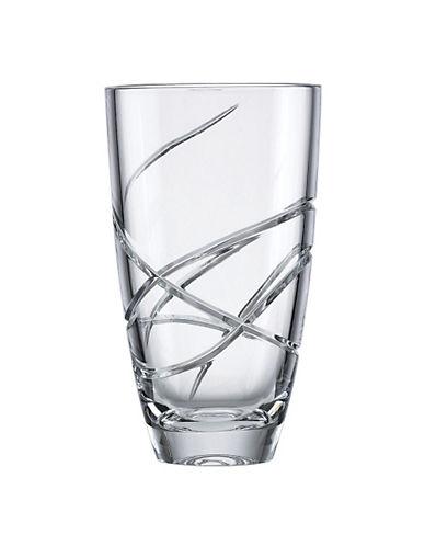 Lenox Adorn Crystal Vase-CLEAR-Medium