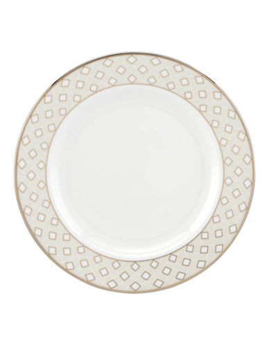 Kate Spade New York Waverly Pond Butter Plate-WHITE-One Size