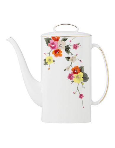 Kate Spade New York Waverly Pond Coffee Pot-WHITE-One Size