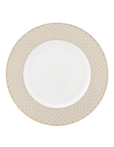 Kate Spade New York Waverly Pond Dinner Plate-WHITE-One Size