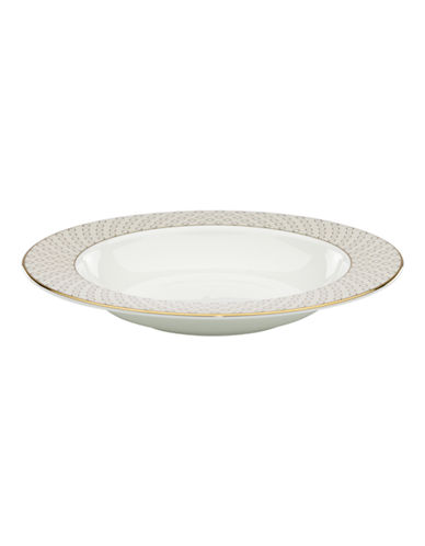 Kate Spade New York Waverly Pond Pasta/Rim Soup Bowl-WHITE-One Size