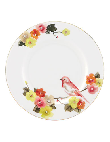 Kate Spade New York Waverly Pond Salad Plate-WHITE-One Size