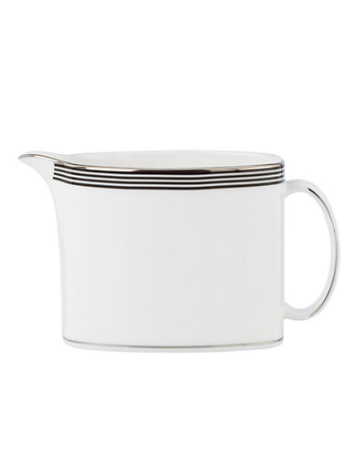 Kate Spade New York Parker Place Creamer-WHITE/BLACK-One Size