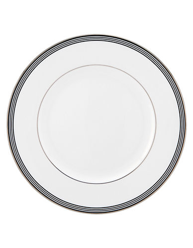 Kate Spade New York Parker Place Dinner Plate-WHITE/BLACK-10