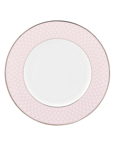 Kate Spade New York Mercer Drive Accent Plate-WHITE-One Size
