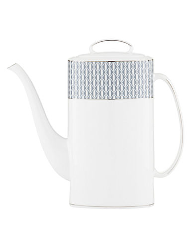 Kate Spade New York Mercer Drive Coffee Pot with Lid-WHITE-One Size
