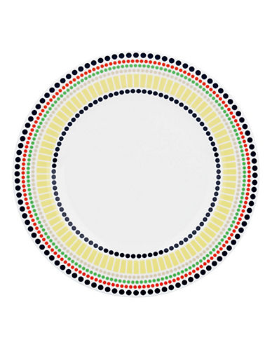 Kate Spade New York Hopscotch Drive Accent Plate-MULTI-COLOURED-One Size
