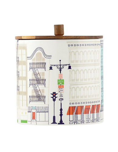 Kate Spade New York About Town Large Canister-WHITE-One Size