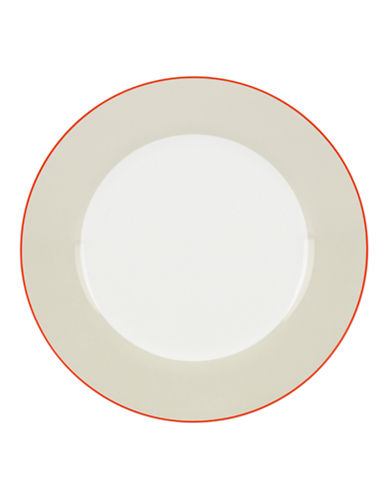 Kate Spade New York Hopscotch Drive Dinner Plate-TAUPE-One Size
