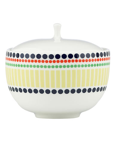 Kate Spade New York Hopscotch Drive Sugar Bowl-MULTI COLOURED-One Size