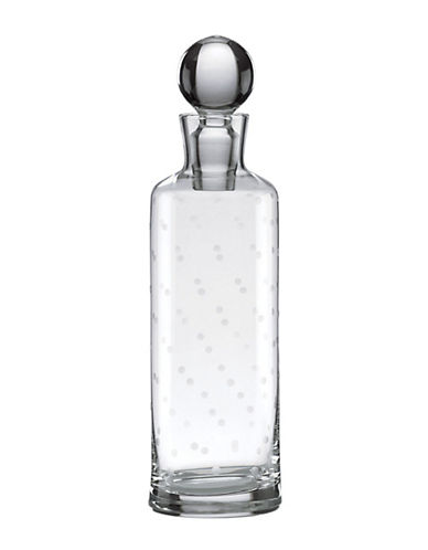 Kate Spade New York Larabee Dot Decanter-CLEAR-One Size