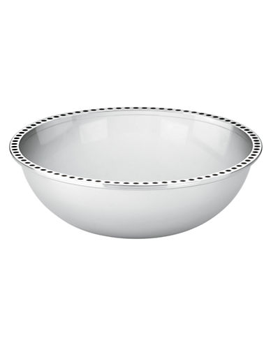Kate Spade New York Pierrepont Place Large Bowl-WHITE/BLACK-One Size