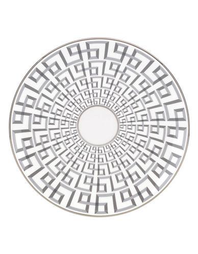 Brian Gluckstein By Lenox Darius Bone China Accent Plate-SILVER-One Size