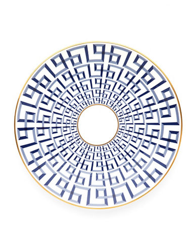 Brian Gluckstein By Lenox Darius Bone China Accent Plate-GOLD-One Size