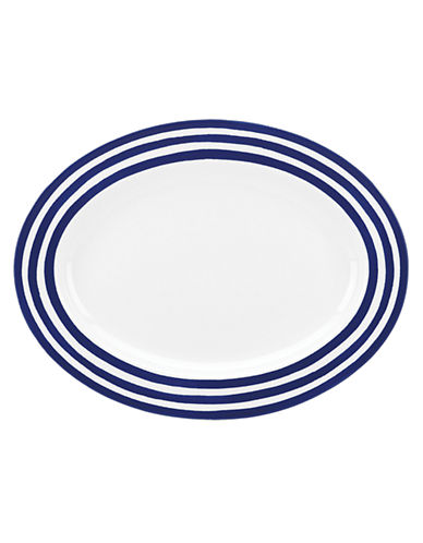 Kate Spade New York Charlotte Street Platter-BLUE-One Size