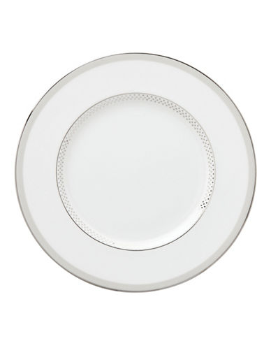 Kate Spade New York Whitaker Street Accent Plate-WHITE-One Size
