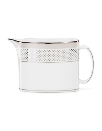 Kate Spade New York Whitaker Street Creamer-WHITE-One Size