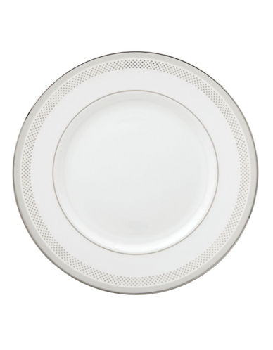 Kate Spade New York Whitaker Street Dinner Plate-WHITE-One Size