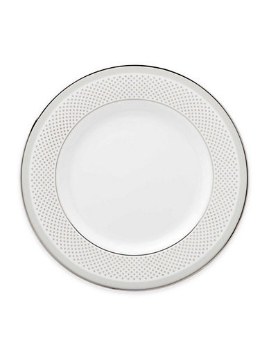 Kate Spade New York Whitaker Street Salad Plate-WHITE-One Size