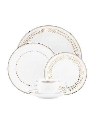 Kate Spade New York Richmont Road 5 Piece Place Setting-GOLD-One Size