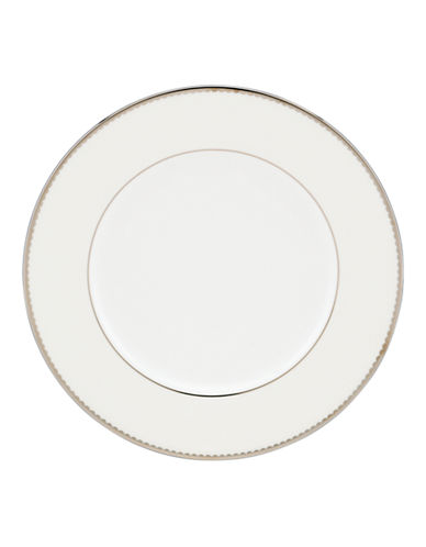 Kate Spade New York Sugar Pointe Accent Plate-WHITE-One Size