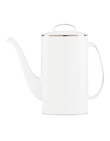Kate Spade New York Sugar Pointe Coffee Pot-WHITE-One Size