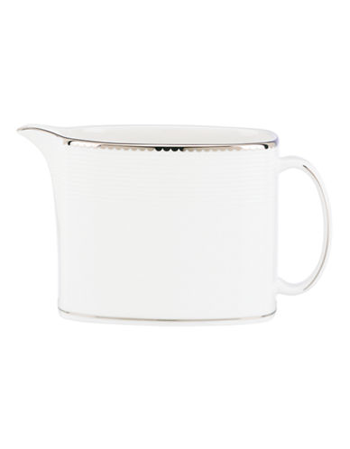 Kate Spade New York Sugar Pointe Creamer-WHITE-One Size