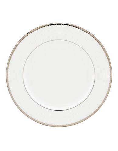 Kate Spade New York Sugar Pointe Salad Plate-WHITE-One Size