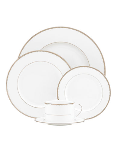 Kate Spade New York Sugar Pointe 5-Piece Place Setting-WHITE-One Size