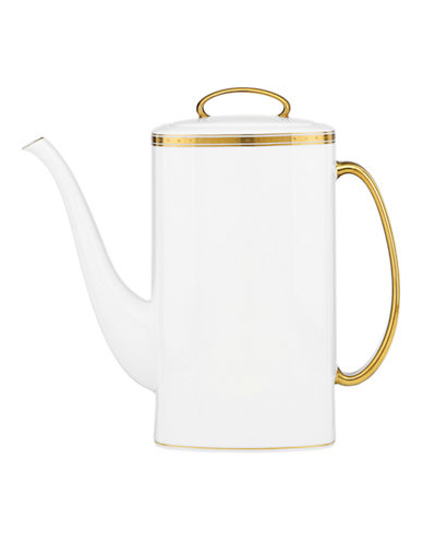 Kate Spade New York Oxford Place Coffee Pot-WHITE-One Size