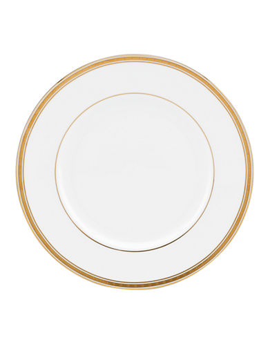 Kate Spade New York Oxford Place Dinner Plate-WHITE-One Size