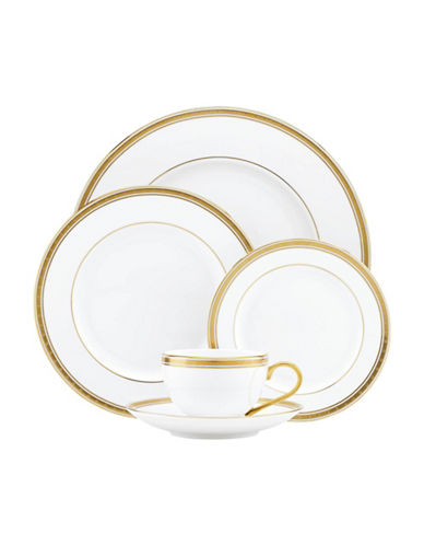 Kate Spade New York Oxford Place 5-Piece Place Setting-WHITE-One Size
