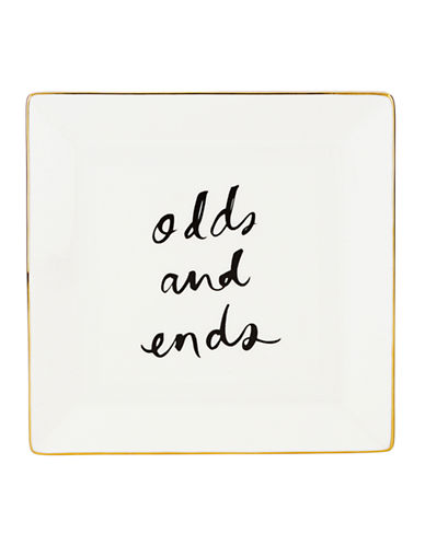 Kate Spade New York Daisy Place Odds And Ends Dish-IVORY-Medium