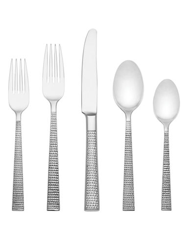 Kate Spade New York Five-Piece Wickford Flatware Set-STAINLESS STEEL-One Size