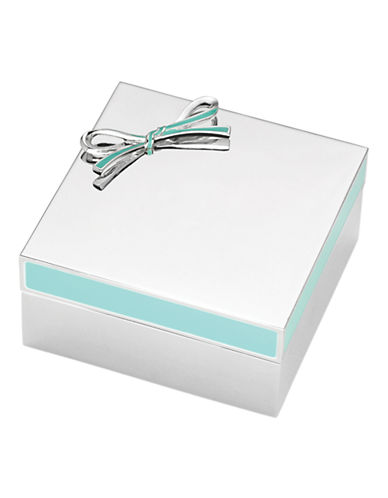 Kate Spade New York Vienna Lane Keepsake Box-SILVER-One Size