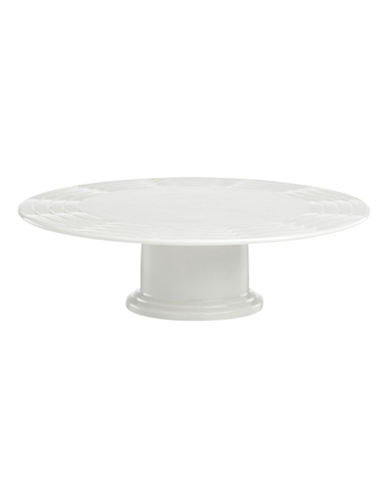 Lenox Entertain 365 Cake Plate-WHITE-One Size