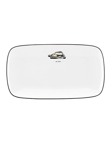 Kate Spade New York Cause A Stir Hors DOeuvre Tray-WHITE-One Size