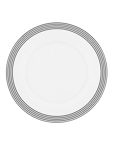 Kate Spade New York Concord Square Accent Plate-WHITE-One Size