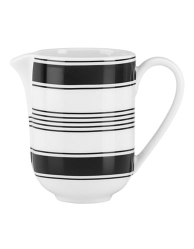 Kate Spade New York Concord Square Creamer-WHITE-One Size