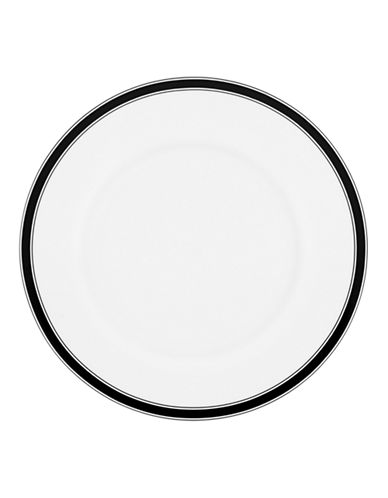 Kate Spade New York Concord Square Dinner Plate-WHITE-One Size