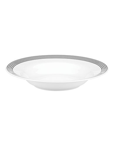 Kate Spade New York Concord Square Individual Pasta Bowl-WHITE-One Size