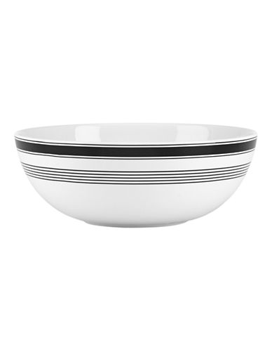 Kate Spade New York Concord Square Serving Bowl-WHITE-One Size
