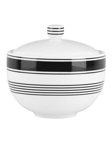 Kate Spade New York Concord Square Sugar Bowl-WHITE-One Size