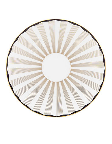 Brian Gluckstein By Lenox Audrey Accent Plate-WHITE-One Size